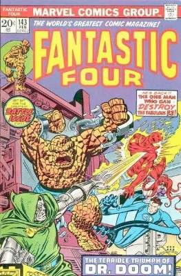 Fantastic Four #143 Value?