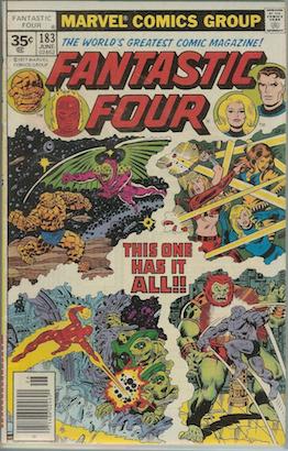 Fantastic Four #183 35 Cent Price Variant