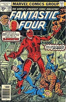 Fantastic Four #184 35 Cent Price Variant