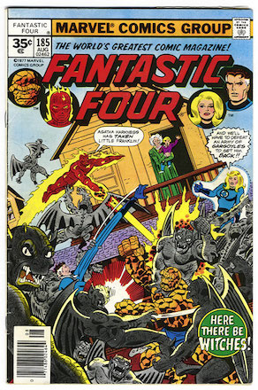 Fantastic Four #185 Marvel 35 Cent Price Variant