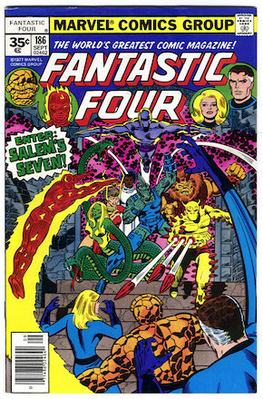 Fantastic Four #186 Marvel 35c Price Variant