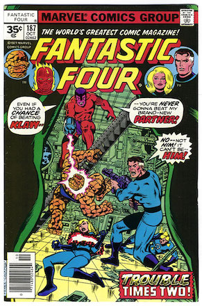 Fantastic Four #187 Marvel 35c Price Variant