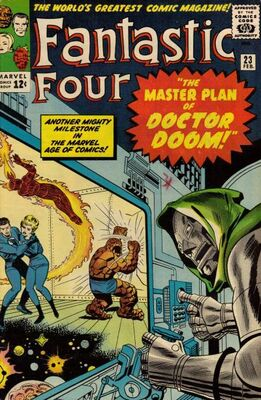 Origin and First Appearance, Terrible Trio, Fantastic Four #23, Marvel Comics, 1964. Click for value
