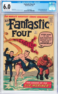 This book has been under-valued for years. Sub-Mariner is a major Marvel villain. Look for a CGC 6.0. Click to buy a copy