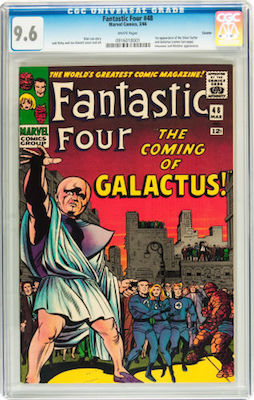 Not everybody will be able to afford a Fantastic Four #48 in CGC 9.6, but we strongly recommend this investment if you can. Don't drop below 9.2. Click to buy a copy
