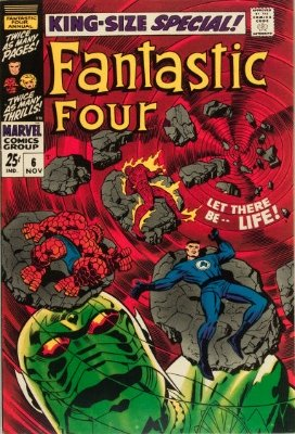 Origin and First Appearance, Annihilus, Fantastic Four Annual #6, Marvel Comics, 1968. Click for value