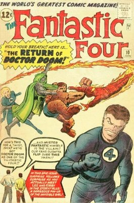 Fantastic Four #10: click for value