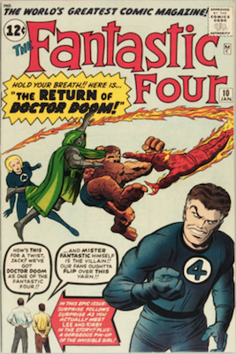 Fantastic Four #10. Click for values