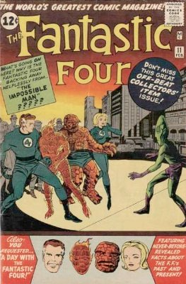 Fantastic Four #11: click for value
