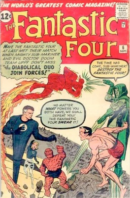 Fantastic Four #6: click for value