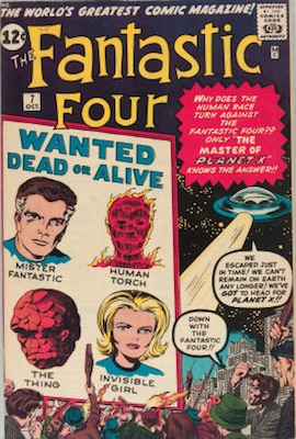 Fantastic Four #7: click for value