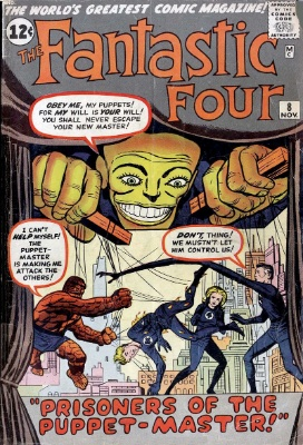 Fantastic Four #8: click for value