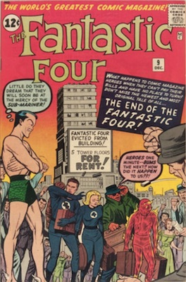 Fantastic Four #9: click for value