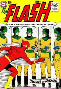 Flash #105 (1959). Another key rare comic book featuring Flash