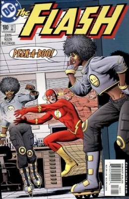 Origin and First Appearance, Peek-a-Boo, Flash (vol 2) #180, DC Comics, 2002. Click for value