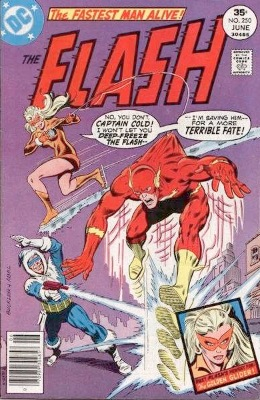 Origin and First Appearance, Golden Glider, Flash #250, DC Comics, 1977. Click for value