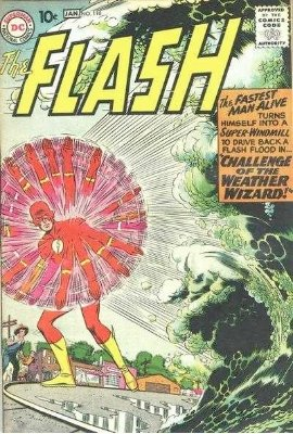 Flash #110: Origin and First Appearance Kid Flash and the Weather Wizard. Click for values