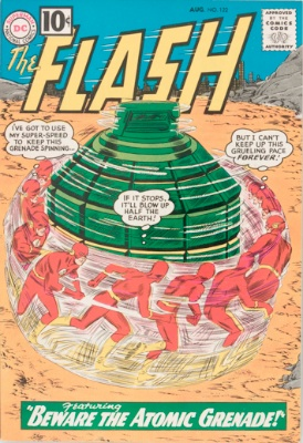 Origin and First Appearance, Top, Flash #122, DC Comics, 1961. Click for value