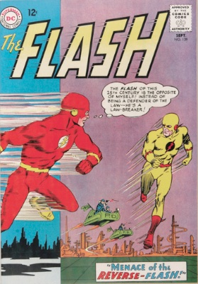 1st Appearance of Professor Zoom, aka the Reverse Flash. Click for values