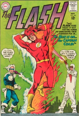 Origin and First Appearance, Heat Wave, Flash #140, DC Comics, 1963. Click for value