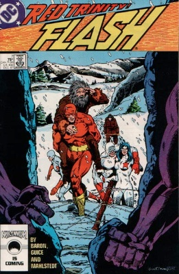 Origin and First Appearance, Lady Flash, Flash #7 (vol 2), DC Comics, 1987. Click for value