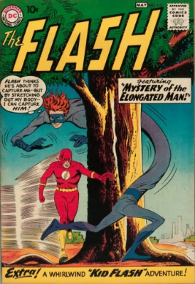 Origin and First Appearance, Trickster, Flash #113, DC Comics, 1960. Click for value