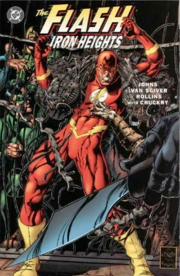 Origin and First Appearance, Blacksmith, Flash: Iron Heights #1, DC Comics, 2001. Click for value