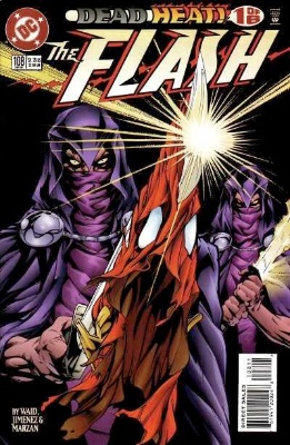 Origin and First Appearance, Savitar, Flash (vol. 2) #108, DC Comics, 1995. Click for value