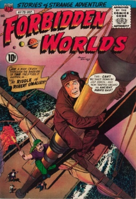 Forbidden Worlds #73: First Appearance of Herbie, the Fat Fury. Click for values
