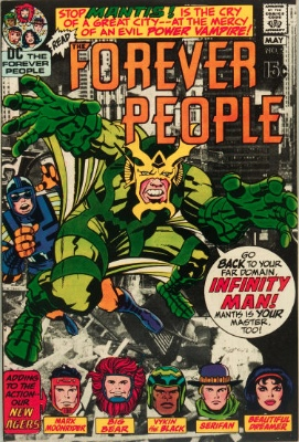 Origin and First Appearance, DeSaad, Forever People #2, DC Comics, 1971. Click for value