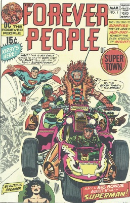 Hot Comics #99: Forever People #1, 1st Darkseid story. Click to buy a copy