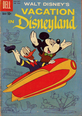 Vacation in Disneyland: Four Color Comics #1025. Click for values