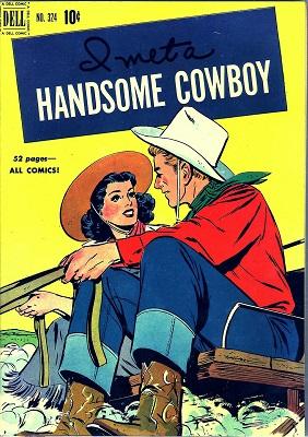 Four Color #324: Rare Dell romance issue. Click for value