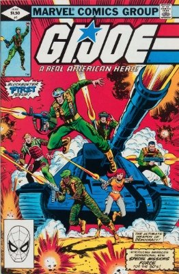 G.I. Joe, A Real American Hero #1 (1982): First Issue. Click for values