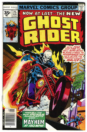Ghost Rider #25 Marvel 35 Cent Variant Edition