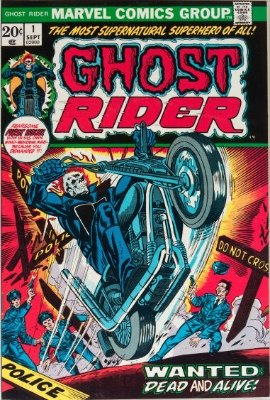 Ghost Rider #1 (1974): First Solo Comic; First Appearance, Son of Satan. One of the most valuable comics of the bronze era. Click for value