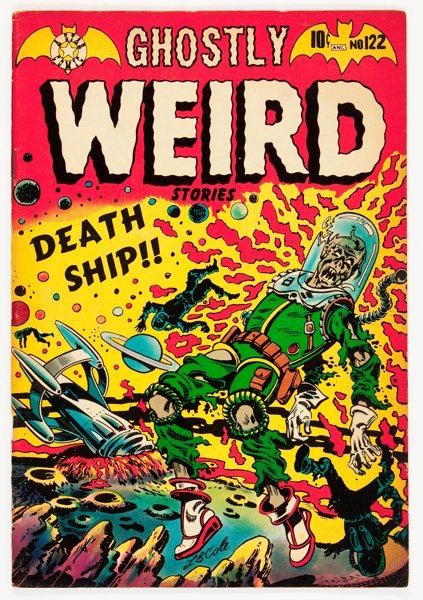 Ghostly Weird #122: Astronauts Turned into Zombies! Click for values
