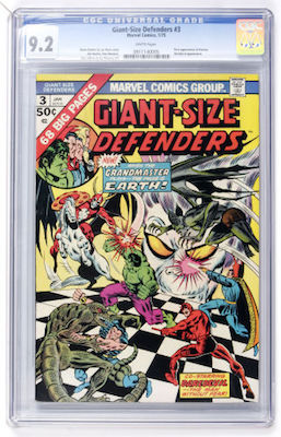 Giant-Size Defenders #3 is a genuinely tough book, with only 48 examples in CGC 9.0 or higher. Click to find yours!