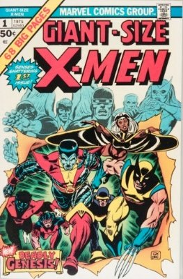Giant-Size X-Men #1 (1975). First appearance of the New X-Men, second appearance Wolverine after Hulk #181