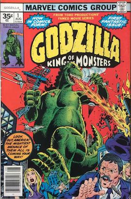 Godzilla #1 35 Cent Price Variant