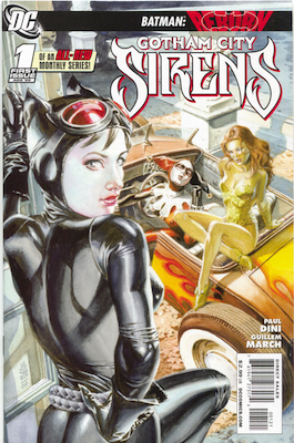 Gotham City Sirens #1 Variant Cover. Click for values