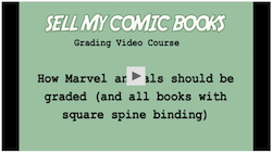 Click to buy our 5hr Video Course on Grading Comic Books