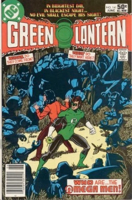 Origin and First Appearance, Omega Men, Green Lantern #141, DC Comics, 1981. Click for values
