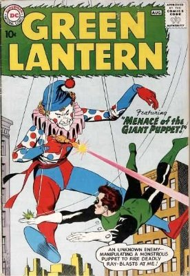 Green Lantern #1 (August 1960): First in new series. Click for current value