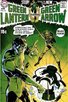 Green Lantern/Green Arrow #76: Two Heroes Team Up. Click for values