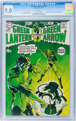Green Lantern #76 is best collected in VF-NM CGC 9.0 condition or higher, if you can afford it. Click to buy a copy