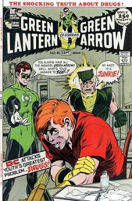 Green Lantern/Green Arrow #85 (August 1971):