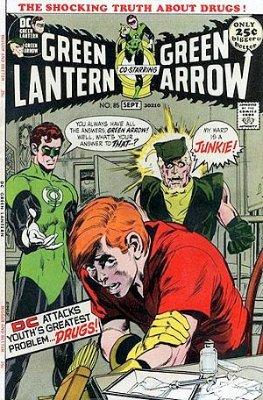 Green Lantern/Green Arrow #85 (August 1971):