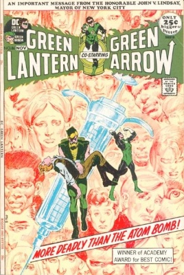 Green Lantern/Green Arrow #86 (October 1971):