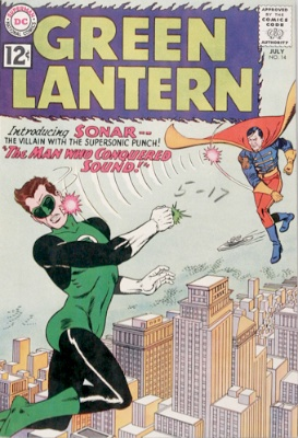 Origin and First Appearance, Sonar, Green Lantern (vol. 2) #14, 1962. Click for value
